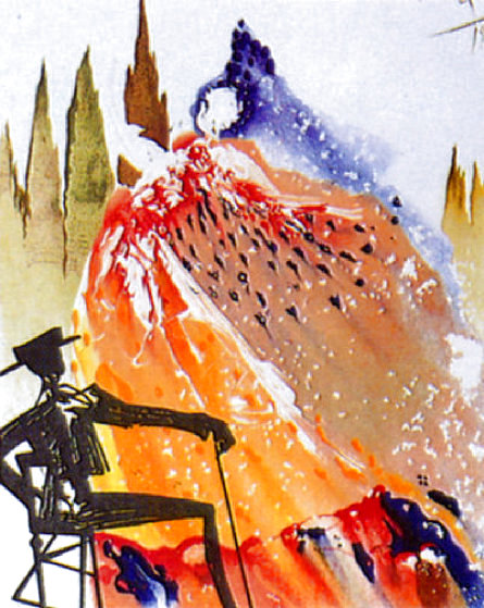 Carmen Suite: Love is Like a Gypsy 1968 (Early) Limited Edition Print by Salvador Dali