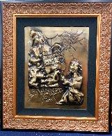 Ten Commandments  Gold Sculpture 1979 25 in Sculpture by Salvador Dali - 1