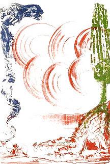 Atomo Moscas   1973 Limited Edition Print - Salvador Dali