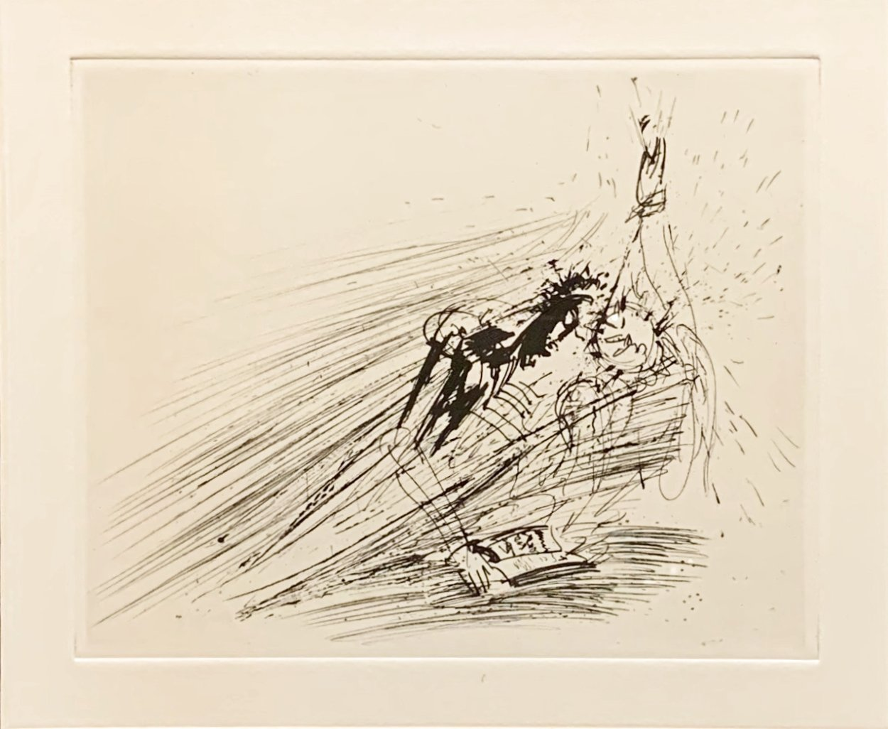 Faust Im Traum (Early) 1969 Limited Edition Print by Salvador Dali