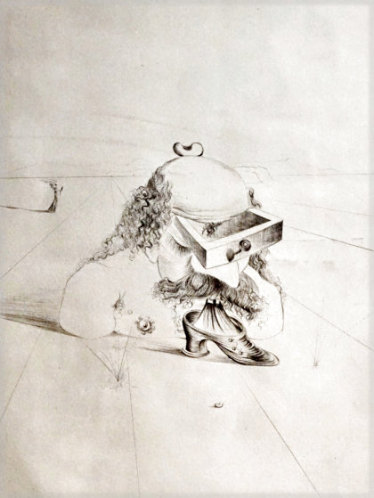 Bureaucrat 1969 (Early) Limited Edition Print by Salvador Dali