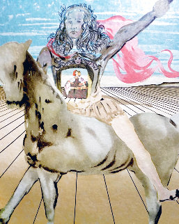 Chevalier Surréaliste Limited Edition Print - Salvador Dali
