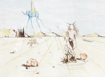 Paysage Elephant Limited Edition Print - Salvador Dali