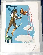 Magic Butterfly & the Dream: Release of the Psychic Spirit HC 1978 Limited Edition Print by Salvador Dali - 1