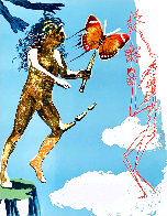 Magic Butterfly & the Dream: Release of the Psychic Spirit HC 1978 Limited Edition Print by Salvador Dali - 0