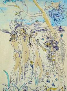 Le Jugement De Paris 1971 Limited Edition Print - Salvador Dali