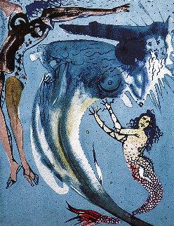 Hans Christian Anderson Tales: Little Mermaid 1966 Limited Edition Print - Salvador Dali