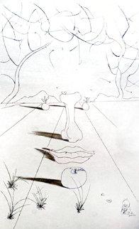 Visage Surrealiste (Aurelia) 1972 Limited Edition Print - Salvador Dali