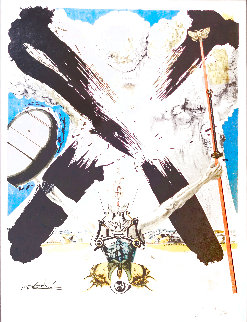 Don Quichotte - The Atomic Era 1957 Limited Edition Print - Salvador Dali