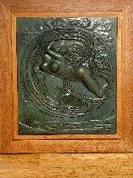 Eva Espacial Bronze Sculpture 1972 36x32 Sculpture by Salvador Dali - 1