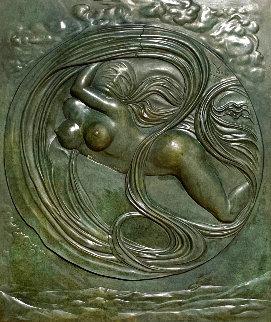 Eva Espacial Bronze Sculpture 1972 36x32 Sculpture - Salvador Dali
