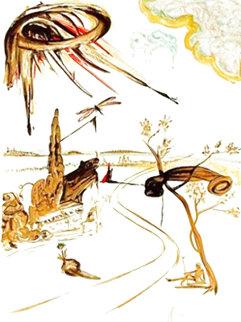Fantastic Voyage 1965 Limited Edition Print - Salvador Dali