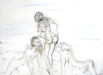 Circe 1969 (Early) Limited Edition Print - Salvador Dali