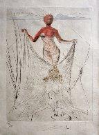 La Venus Aux Fourrures, Complete Suite of 16 Etchings 1968 (Early)  Limited Edition Print by Salvador Dali - 16