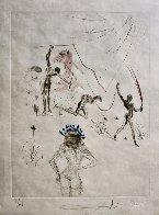 La Venus Aux Fourrures, Complete Suite of 16 Etchings 1968 (Early)  Limited Edition Print by Salvador Dali - 5