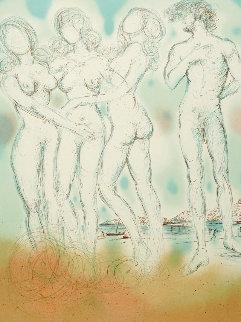 Enchanted Hawaii 1979 Limited Edition Print - Salvador Dali