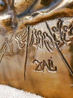 Ten Commandments Gold Sculpture 1979 25 in Sculpture by Salvador Dali - 6