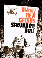 Diary of a Genius Drawing by Salvador Dali - 1