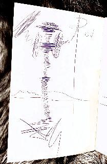 Diary of a Genius Drawing - Salvador Dali