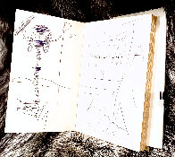 Diary of a Genius Drawing by Salvador Dali - 5