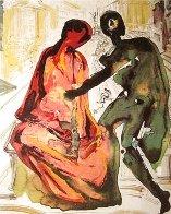 Les Amoureux Suite of 3 Prints 1979 Limited Edition Print by Salvador Dali - 1