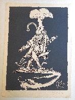 Les Songes Drolatiques de Pantagruel (Grey) 1974 Limited Edition Print by Salvador Dali - 1