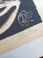 Les Songes Drolatiques de Pantagruel (Grey) 1974 Limited Edition Print by Salvador Dali - 2