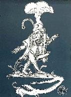 Les Songes Drolatiques de Pantagruel (Grey) 1974 Limited Edition Print by Salvador Dali - 0