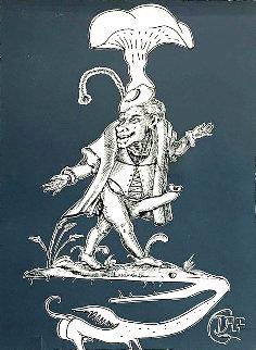 Les Songes Drolatiques de Pantagruel (Grey) 1974 Limited Edition Print - Salvador Dali