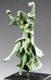 Carmen Castanets Bronze Sculpture 1970 10 in Sculpture - Salvador Dali
