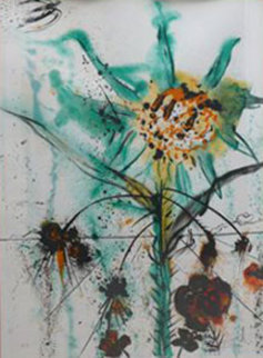 Sun Goddess Flower EA 1972 Limited Edition Print by Salvador Dali