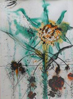Sun Goddess Flower EA 1972 Limited Edition Print by Salvador Dali