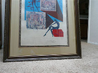 Dressed in The Nude in Surrealist Fashion 1971 Limited Edition Print by Salvador Dali - 2