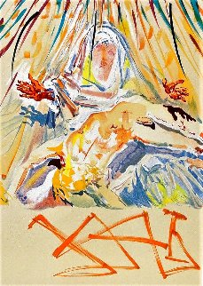 La Pieta Nera Limited Edition Print - Salvador Dali
