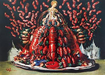 Les Cannibalismes De L'automne 1977 Limited Edition Print - Salvador Dali