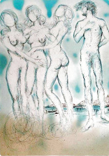 Judgement of Paris 1979 Limited Edition Print - Salvador Dali