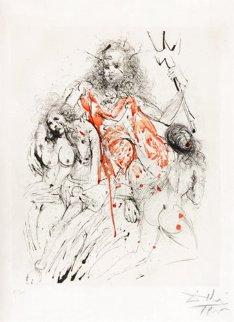 Poseidon 1963 (Early) Limited Edition Print - Salvador Dali