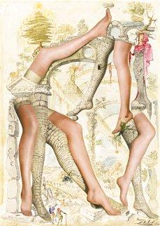 Publicité pour Bryan Hosiery 1946 Other - Salvador Dali