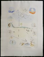 Frontispiece From Twelve Tribes of Israel Suite 1972 Limited Edition Print by Salvador Dali - 1