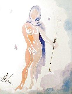 Zodiac Virgo 1967 Limited Edition Print - Salvador Dali