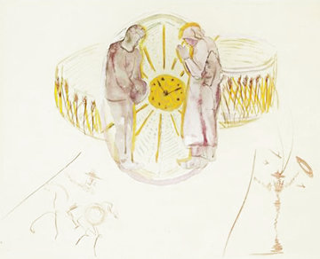Cycles of Life: One's Identity 1979 Limited Edition Print - Salvador Dali