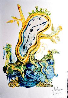 Time: Stillness of Time 1976 Limited Edition Print - Salvador Dali