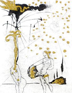 Les Amours Jaunes Complete Suite of 10 Etchings 1974 Limited Edition Print - Salvador Dali