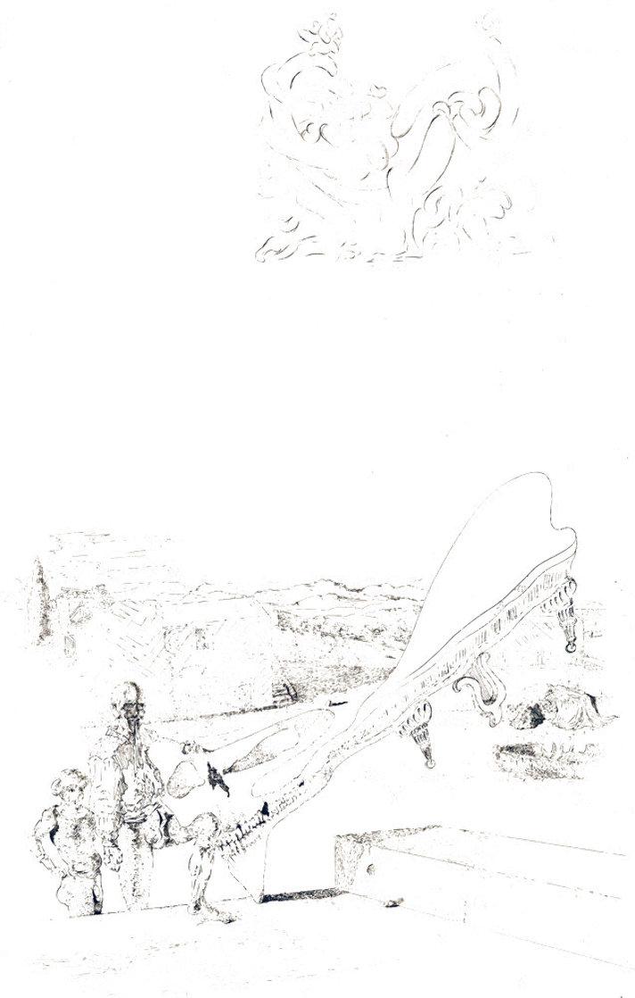 Les Chantes De Maldoror: Memory of Music 1934 Limited Edition Print by Salvador Dali