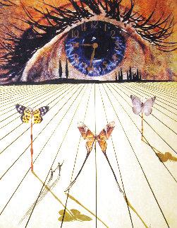 Eye of Surrealistic Time 1971 Limited Edition Print - Salvador Dali