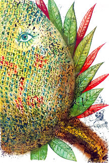 Vegetation Inedit (Pineapple) Ananas 1967 (Early) Limited Edition Print - Salvador Dali
