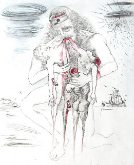 Saturn 1963 (Early) Limited Edition Print - Salvador Dali
