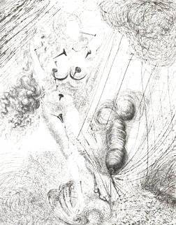 Birth of Venus 1963 (Early) Limited Edition Print - Salvador Dali