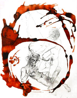 Mythology: Thesus and the Minotaur 1963 (Early) Limited Edition Print - Salvador Dali