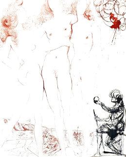 Judgement of Paris 1963 (Early) Limited Edition Print - Salvador Dali